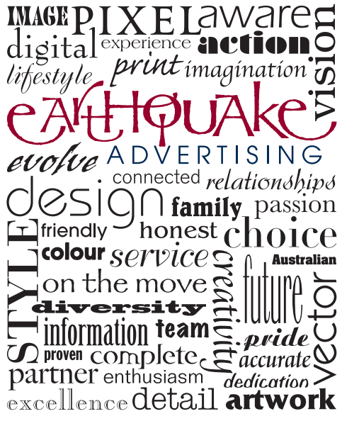 Earthquake Advertising